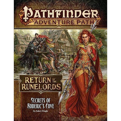 Pathfinder Adventure Path: Secrets of Roderick's Cove (Return of the Runelords 1 of 6) - (Paperback) - image 1 of 1