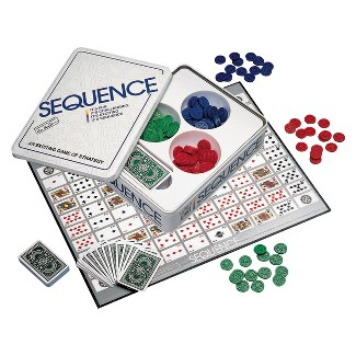 Sequence In A Tin Game : Target