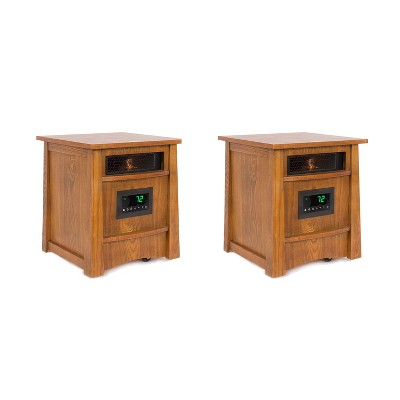 Lifesmart Lifelux 8 Element Electric Infrared Large Room Space Heater