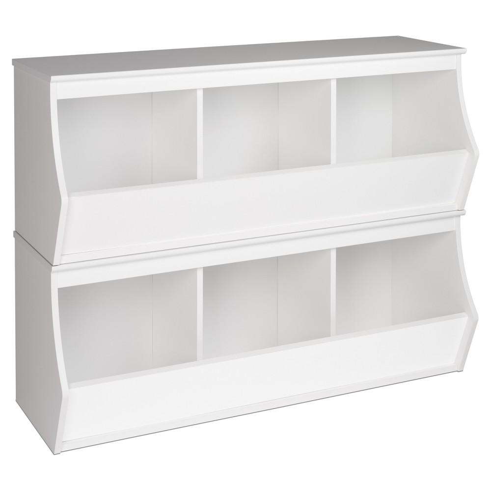 Image of Fremont Entryway Storage Cubbie - 6 Bin - White - Prepac