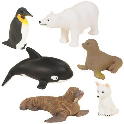 Kaplan Early Learning Polar Animals - Set of 6