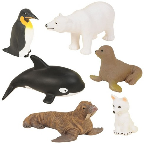 Kaplan Early Learning Polar Animals - Set of 6 - image 1 of 4