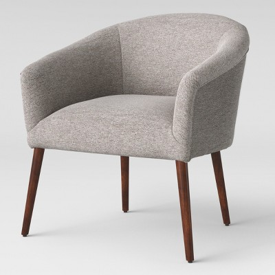 Beau Pomeroy Barrel Chair Gray   Project 62™