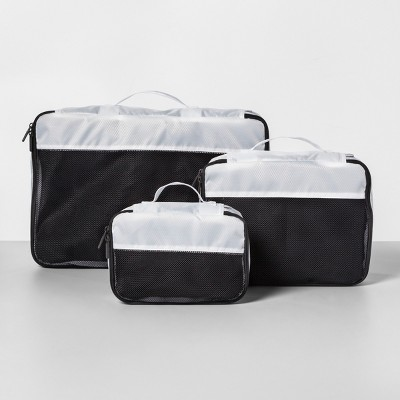 3pc Packing Cube Set White - Made By Design™