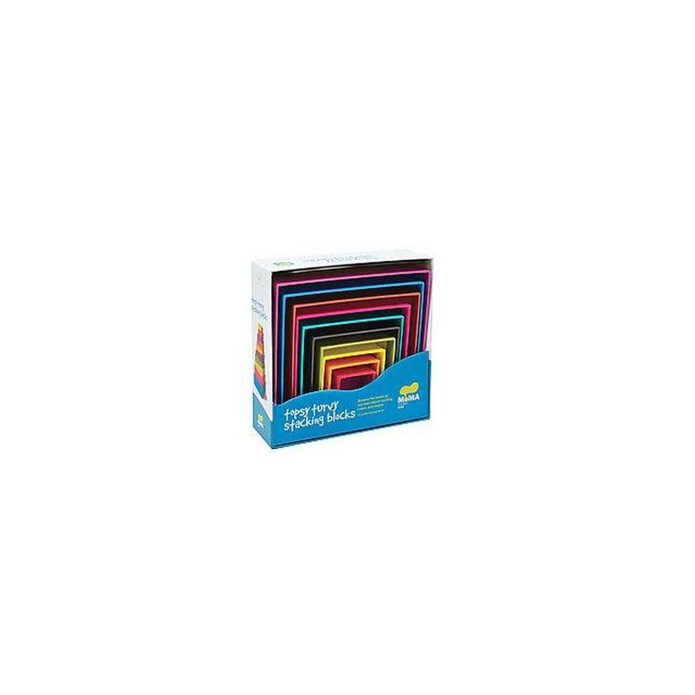 Moma Topsy-turvy Stacking Blocks (Hardcover)