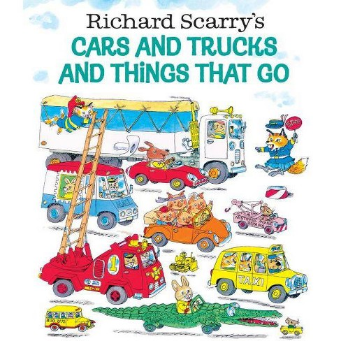 Richard Scarry's Cars and Trucks and Thi (Hardcover) by Richard Scarry - image 1 of 1