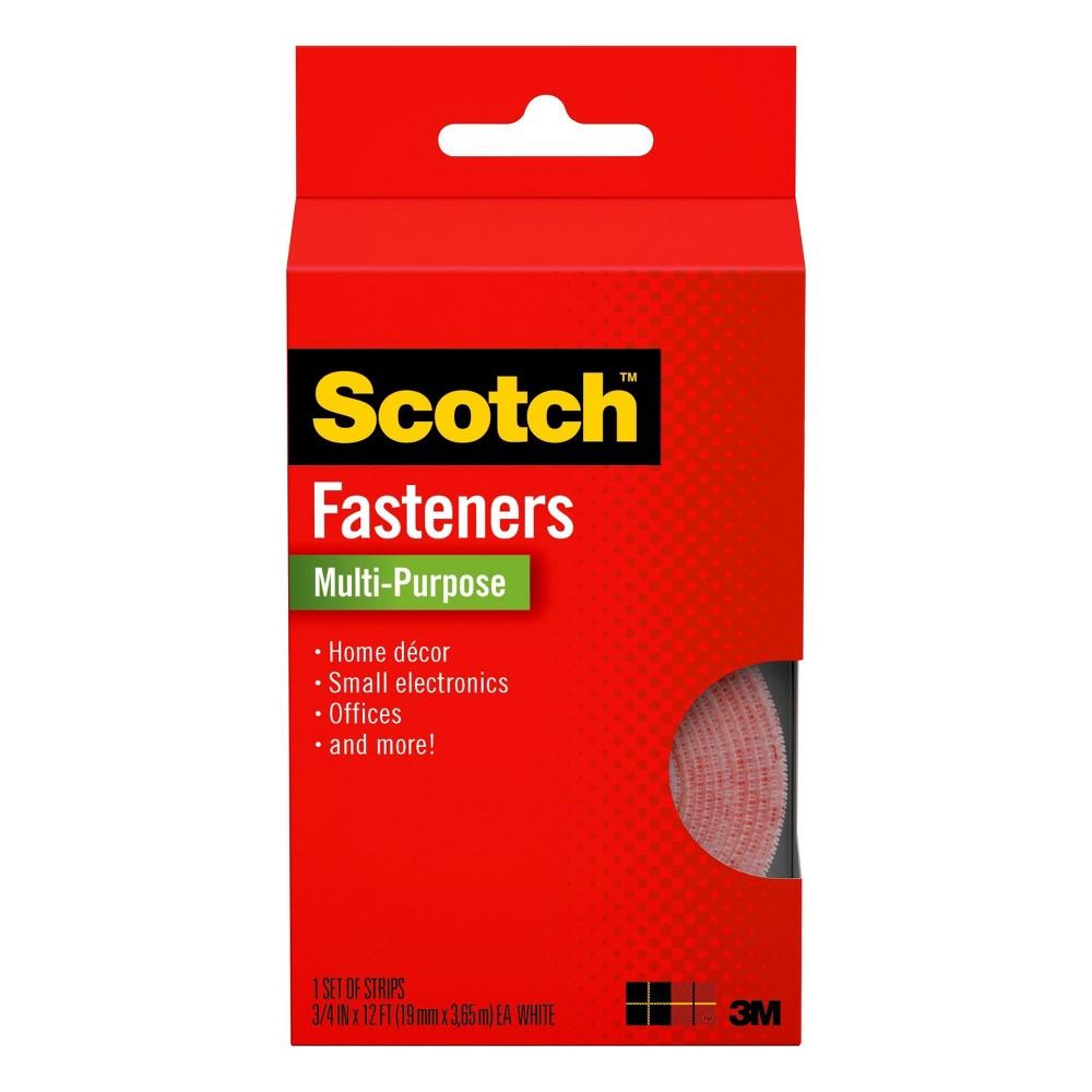 Scotch Multi Purpose Fasteners White