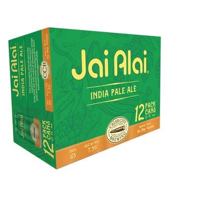 Cigar City Jai Alai IPA Beer - 12pk/12 fl oz Cans