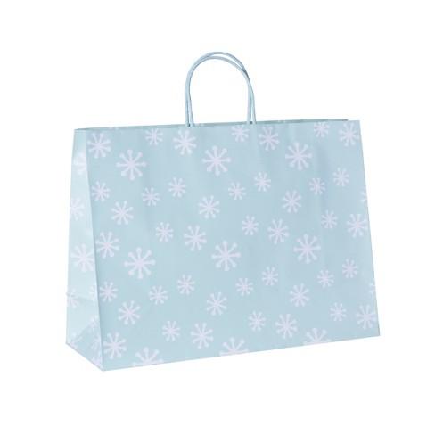 Vogue Bag Snowflakes Gift Bag - Spritz™ - image 1 of 1