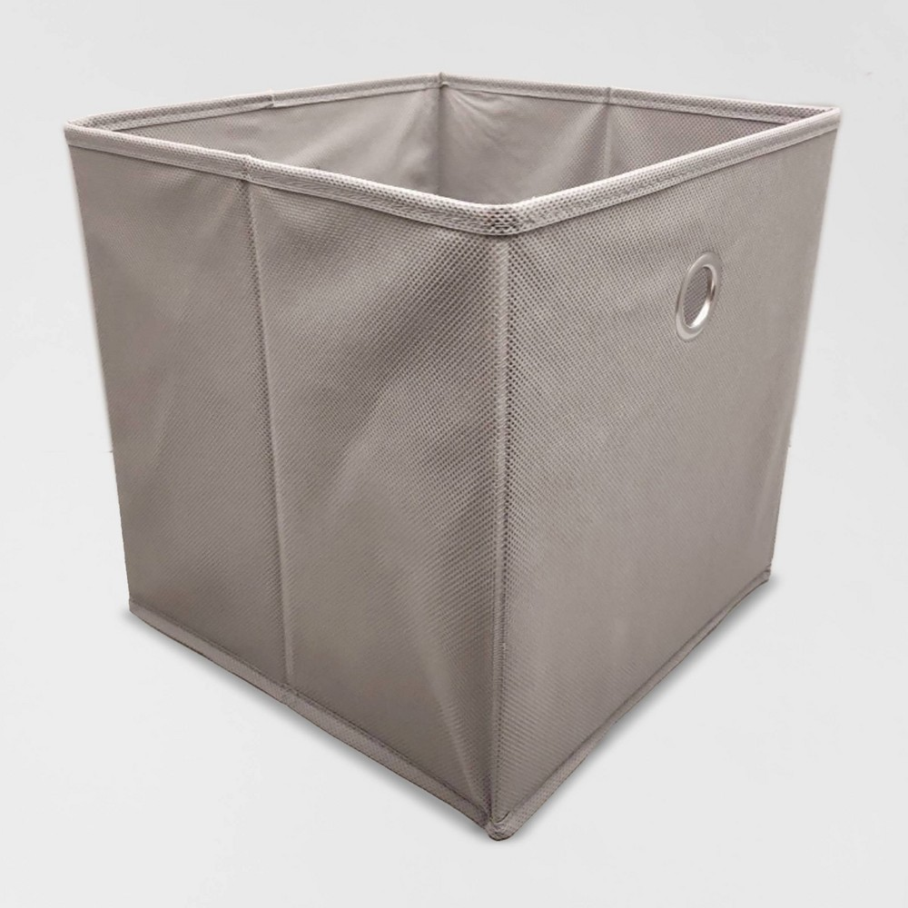 "Image of ""Fabric Cube Storage Bin Gray 11"""" - Room Essentials"""