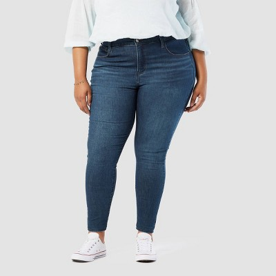 DENIZEN® from Levi's® Women's Plus Size High-Rise Super Skinny Jeans