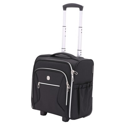 SWISSGEAR Checklite Carry On Underseat Suitcase - Black