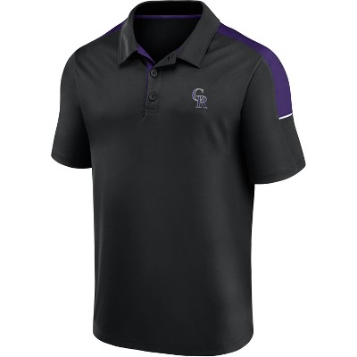 MLB Colorado Rockies Men's Polo Shirt