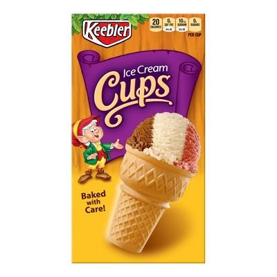 Ice Cream Cones & Toppings: Keebler Ice Cream Cones