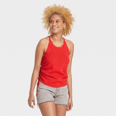 Women's Tie Side U-Neck Sweater Tank - Universal Thread™
