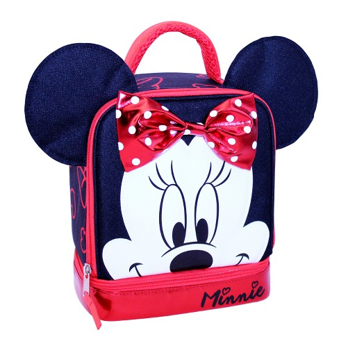 Minnie Mouse Dual Compartment Lunch Bag