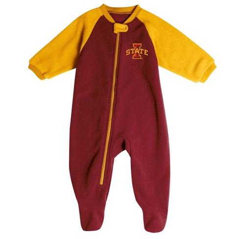 NCAA Iowa State Cyclones Infant Blanket Sleeper - image 1 of 2