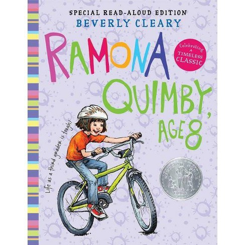 Ramona Quimby, Age 8 - (Ramona, 6) by  Beverly Cleary (Hardcover) - image 1 of 1