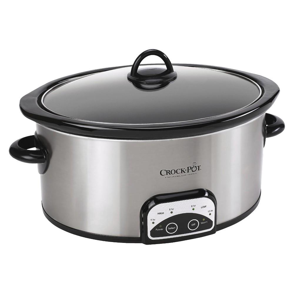 Crock-Pot 6 Qt. Smart-Pot Slow Cooker – SCCPVP600-S, Stainless 13985505
