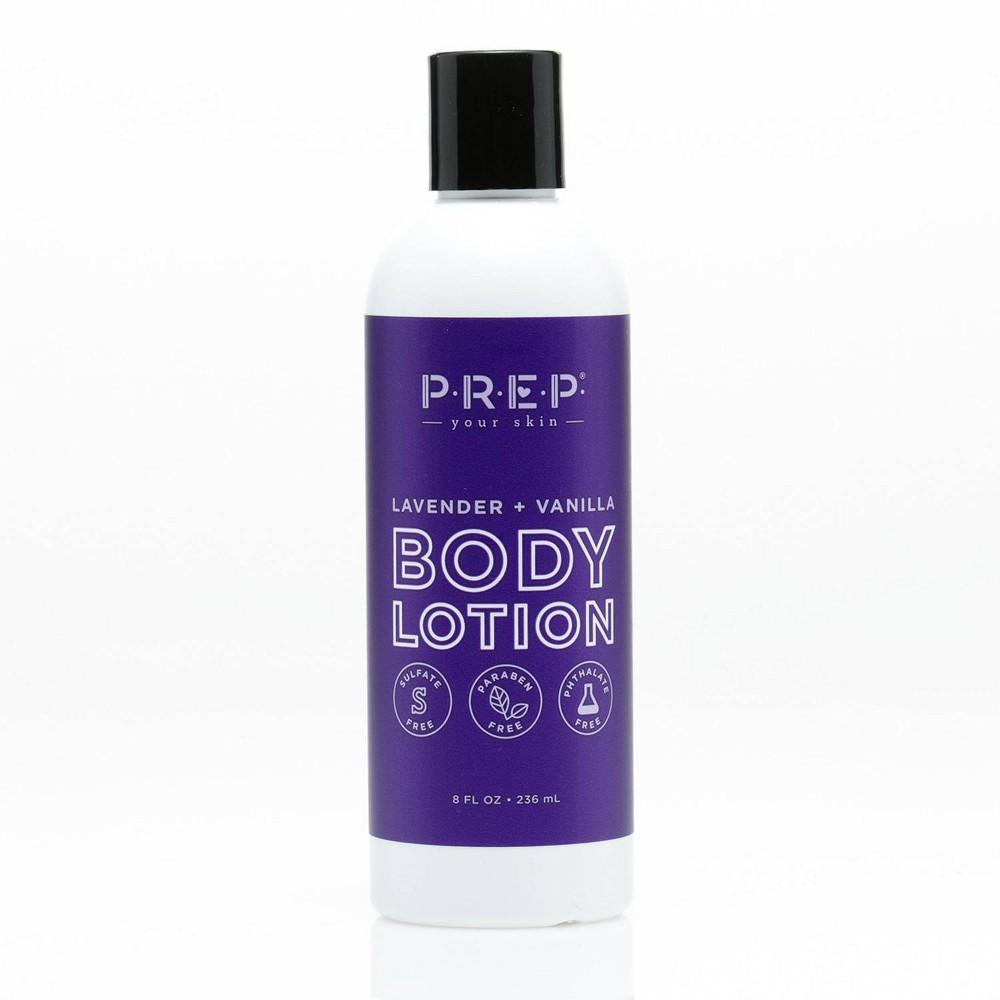 Image of PREP Your Skin Lavender and Vanilla Body Lotion - 8 fl oz