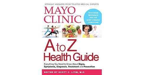 Mayo Clinic A to Z Health Guide (Paperback) - image 1 of 1