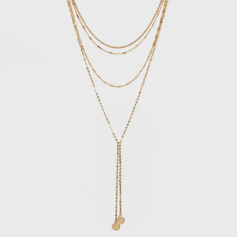 Sugarfix by BaubleBar Charm Embellishments Y-Necklace - Gold, Girl's
