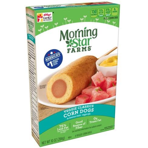 MorningStar Farms Veggie Classics Frozen Corn Dogs - 10oz - image 1 of 6
