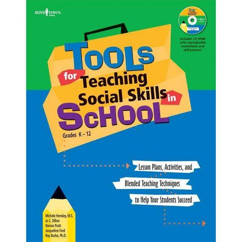 Tools for Teaching Social Skills in Schools - (Mixed media product) - image 1 of 1
