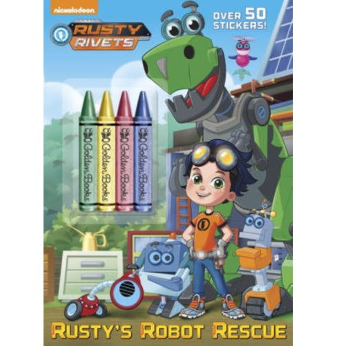 Rusty's Robot Rescue (Paperback) (Golden Books) - image 1 of 1