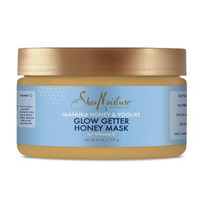 SheaMoisture Manuka Honey & Yogurt Glow Getter Honey Mask - 4oz