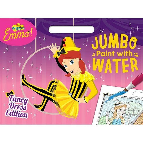 The Wiggles Emma!: Fancy Dress Edition Jumbo Paint with Water - (Paperback) - image 1 of 1