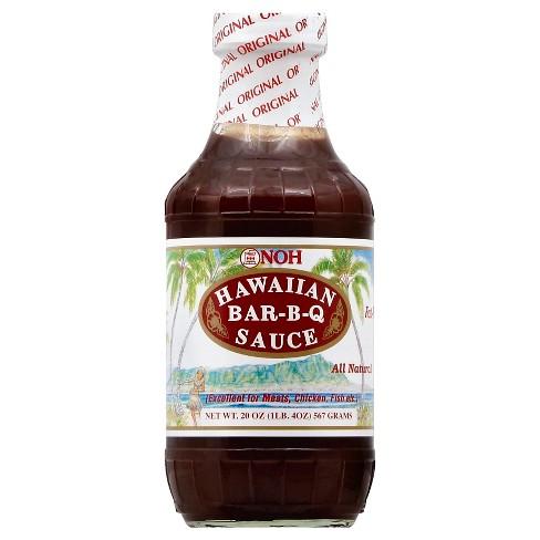 Noh All Natural Hawaiian Barbeque Sauce - 20oz