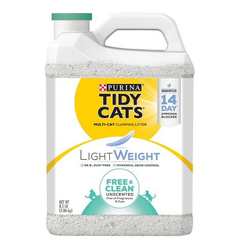 Tidy Cats Free & Clean Unscented Lightweight Cat Litter - image 1 of 4