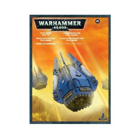 Space Marines Plastic Drop Pod Warhammer 40k New by Games Workshop - image 1 of 1