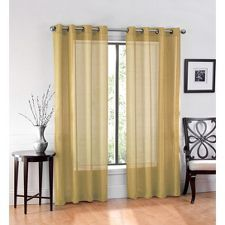 Yellow Curtains Target