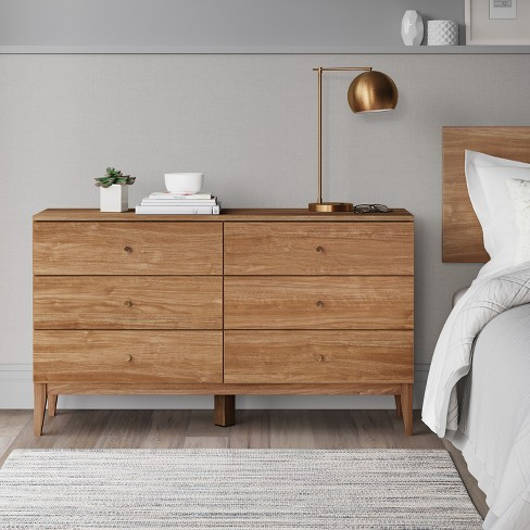 siegel 6 drawer dresser walnut project 62 target