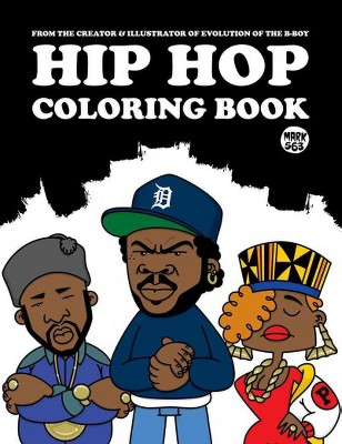 Hip Hop Adult Coloring Book