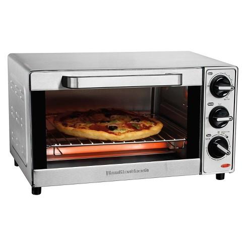 Hamilton Beach 4 Slice Toaster Oven - Stainless Steel 31401 - image 1 of 4