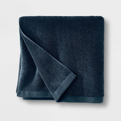 Organic Bath Towel Navy - Casaluna™