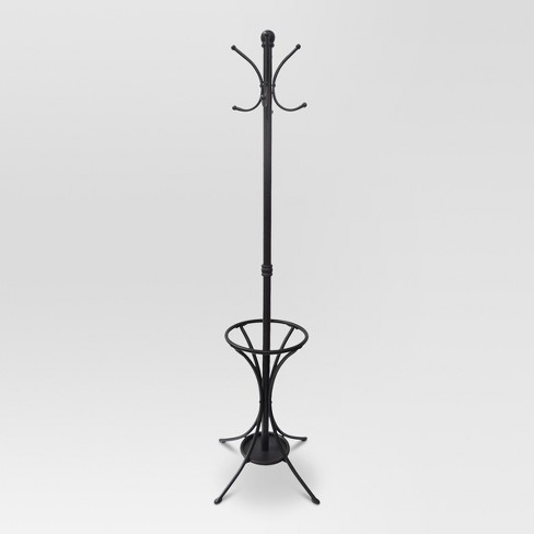 Coat Rack With Umbrella Stand Metal Threshold