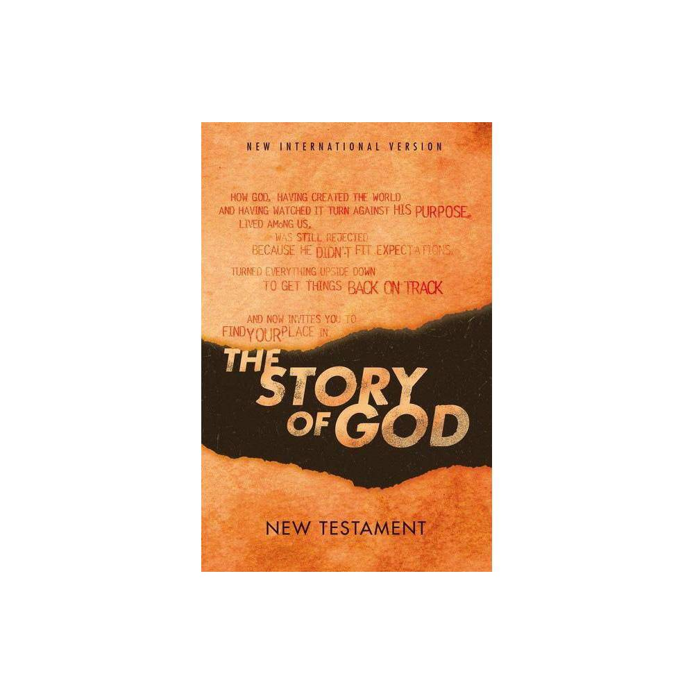 Niv The Story Of God New Testament Paperback By Zondervan
