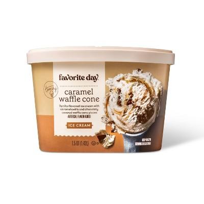 Waffle Cone Ice Cream - 48oz - Favorite Day™
