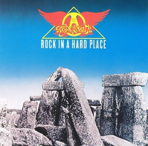 Aerosmith - Rock in a hard place (CD) - image 1 of 1
