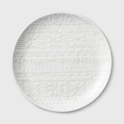 8.3  Melamine Salad Plate White - Threshold™