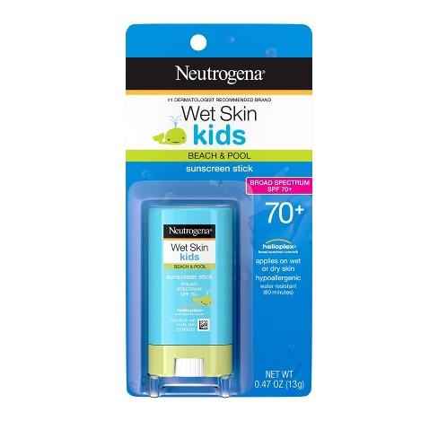 Neutrogena Wet Skin Kids Sunscreen Stick - SPF 70 - 0.47oz - image 1 of 4