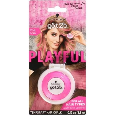 Got2B Schwarzkopf Temporary Hair Chalk - Pink Crush