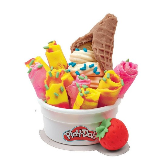 Play-Doh Rollzies Ice Cream Set 9pk image number null