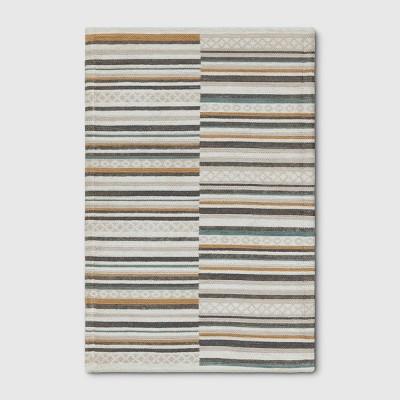 2'X3' Stripe Woven Accent Rugs Cream - Project 62™