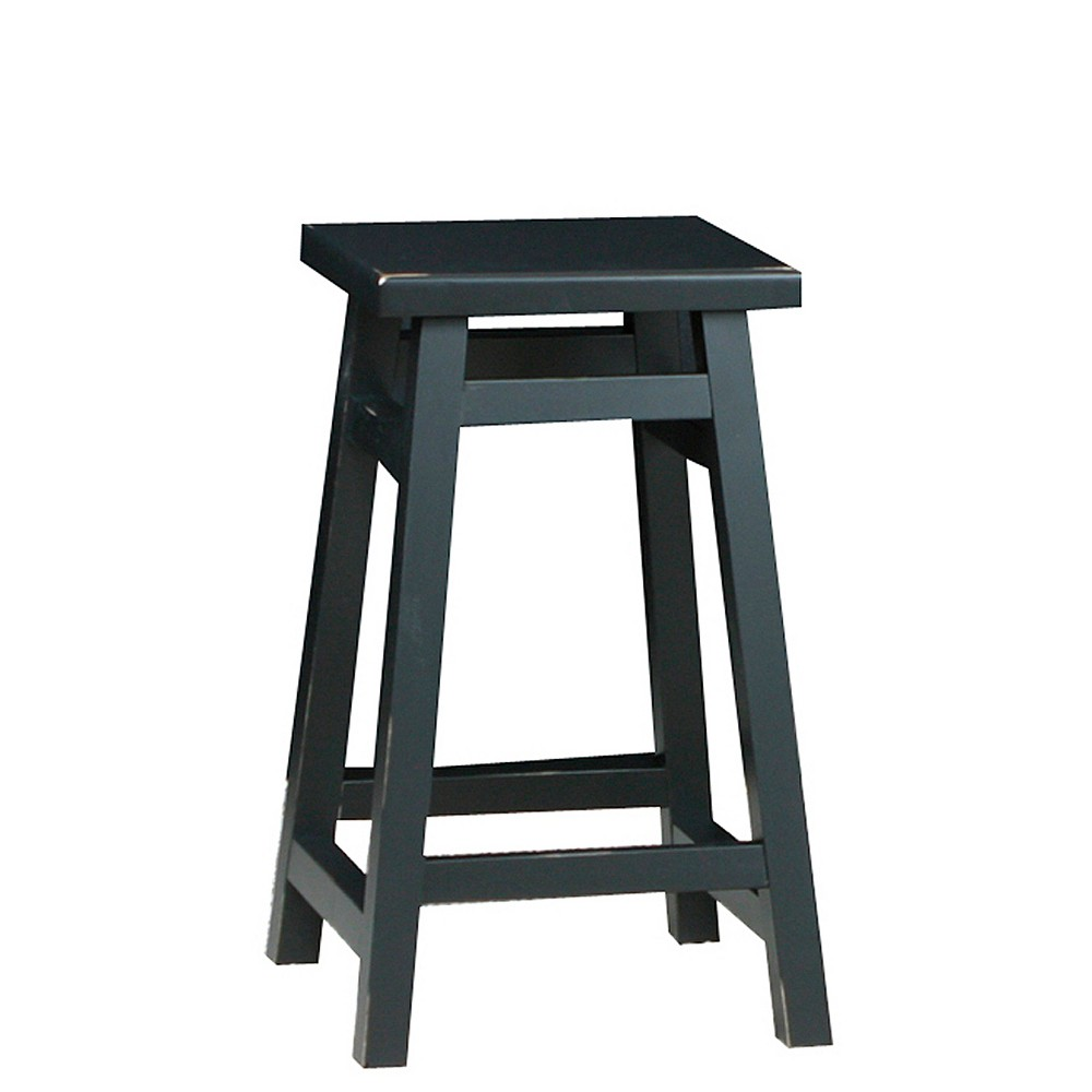 "Image of ""23.75"""" Porter Counter Stool Antique Black - Carolina Chair & Table"""