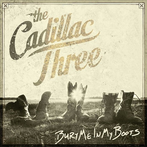 Cadillac three - Bury me in my boots (Vinyl) - image 1 of 1